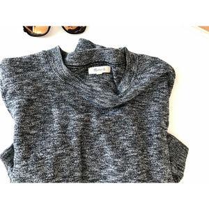 Madewell Sweaters - Madewell Gray Marled Mockneck Sweater - M